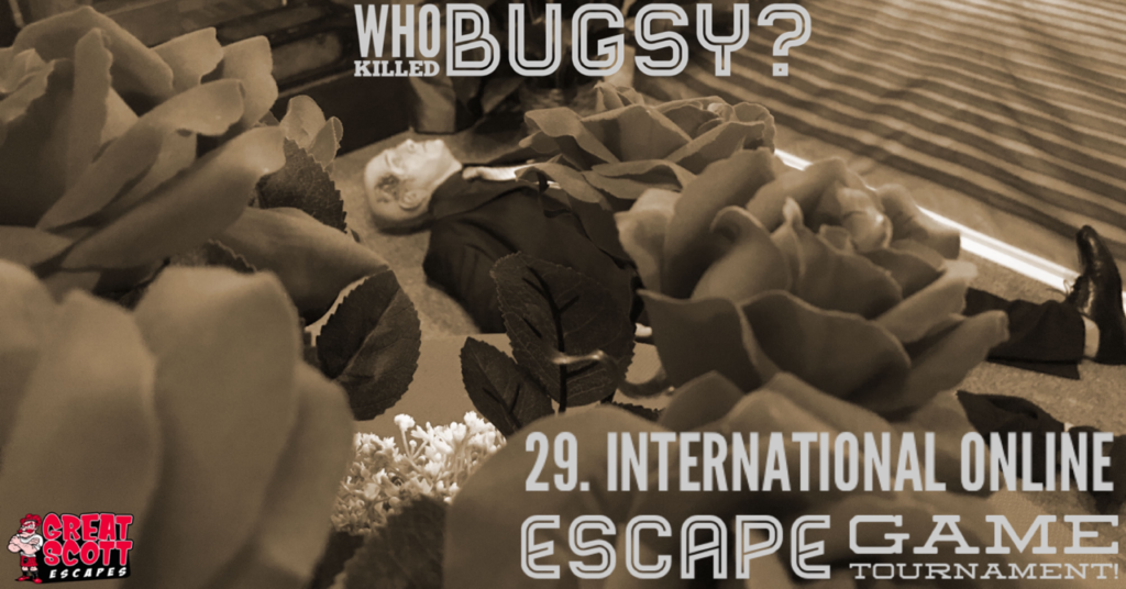 29. EGOlympics - International Online Escape Tournament with Who killed Bugsy Marlowe? by Great Scott Escapes