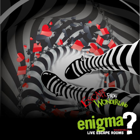 39. Escape Game Olympics with ESCAPE FROM WONDERLAND by Enigma Wakefield
