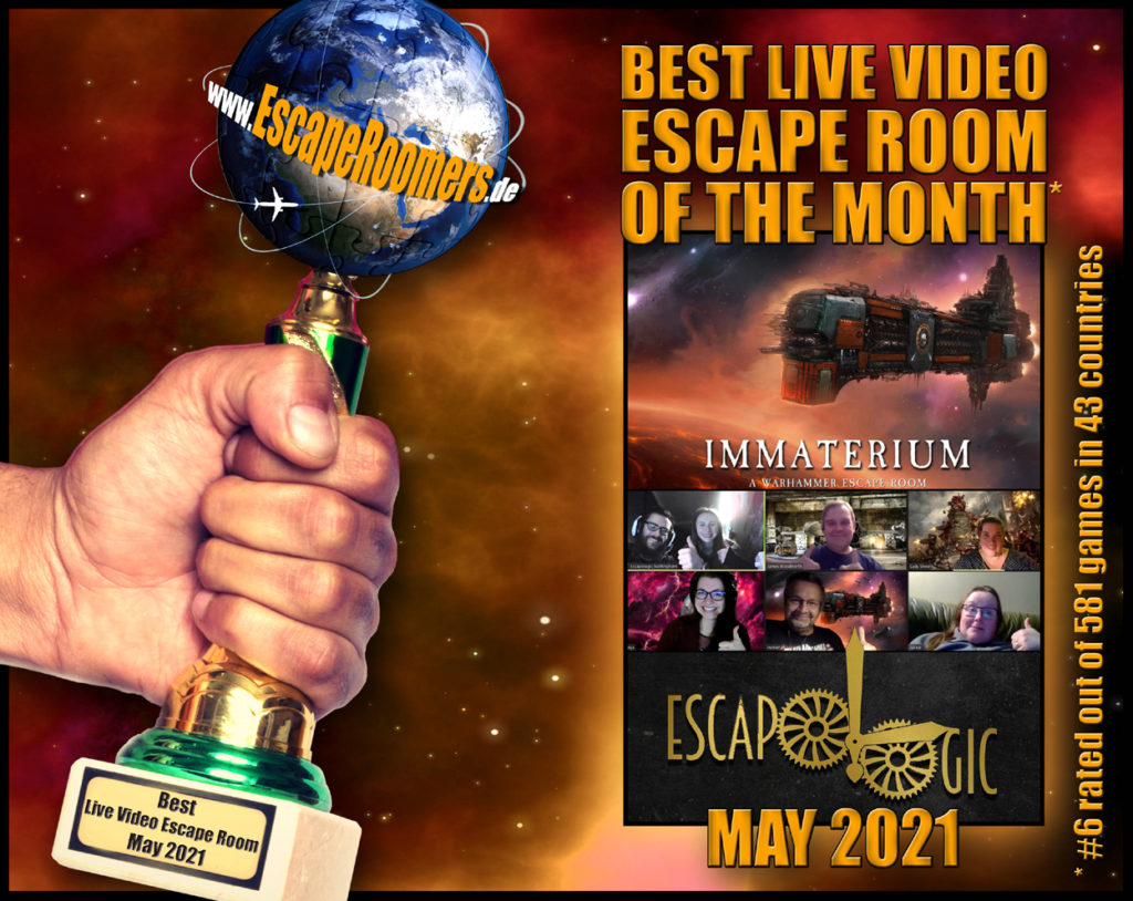 Remote Game Of The Month 2021 05 Immaterium by Escapologic