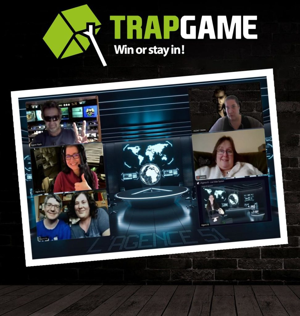 THE AGENCY 51 (LIVE VIDEO ESCAPE ROOM) - Trapgame